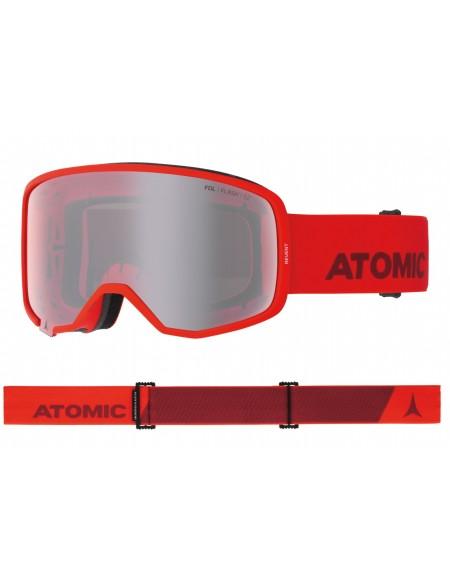 Atomic Maschera Revent Red Lente Cilindrica Goggles
