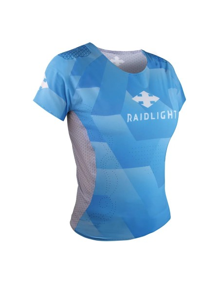 Raidlight Revolutiv ss Top W Maglietta Ultraleggera Blue