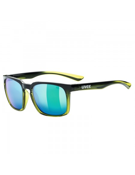 Uvex Lgl 35 Lifestyle Black Green Occhiali
